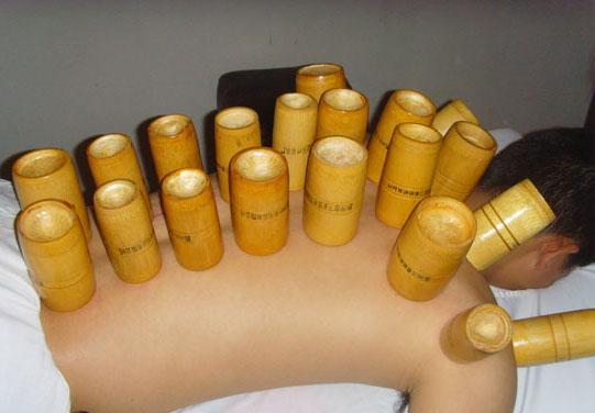 ventosa de bambu